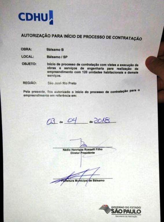 CDHU de Bálsamo