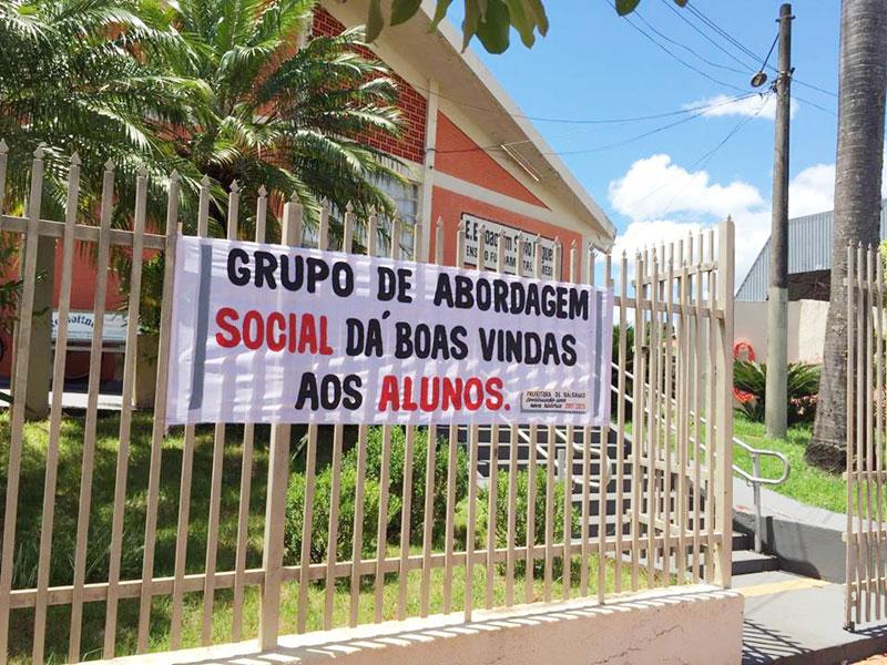 Rede Pública de Bálsamo realiza abordagem em crianças e adolescentes para prevenir contra violência dessa faixa etária
