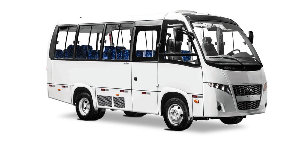 Aquisição de 2 Ônibus, uma Van e uma Pá Carregadeira