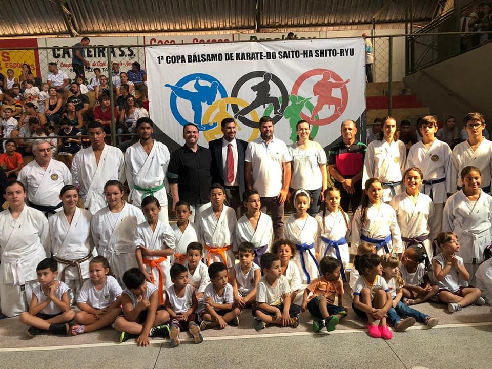 1ª Copa de Karatê de Bálsamo foi um sucesso