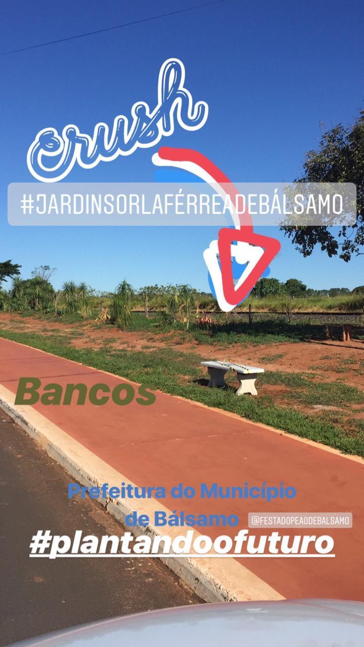 Orla Férrea ganha Jardim e Bancos, Escolas Modesto, João Flores e Leticia desenvolvem atividades