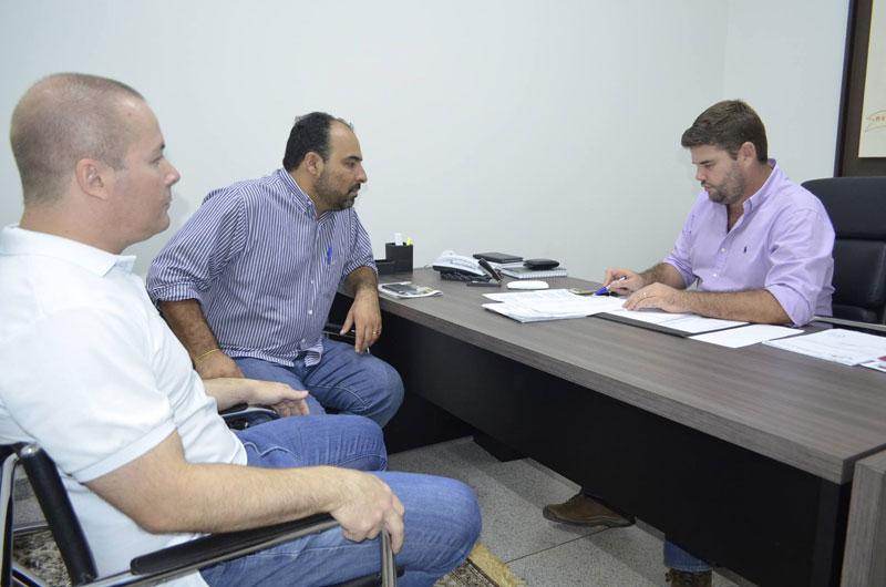 Du Lourenço se encontra com o governador Alckmin