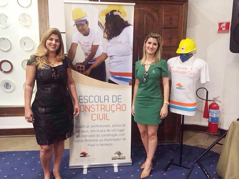 Bia Steque Lourenço, 1ª Dama de Bálsamo se encontra com Lu Alckmin 1ª Dama do Estado