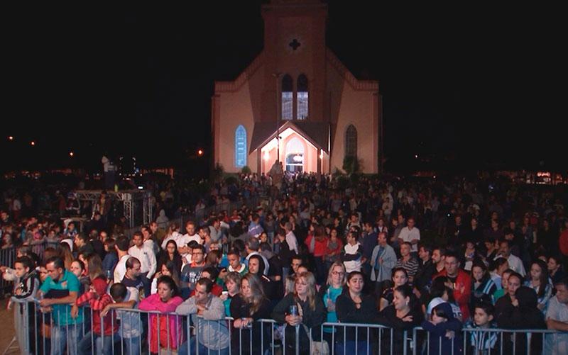 Cena da encenação em Bálsamo (Foto: Graciela Andrade/TV TEM)