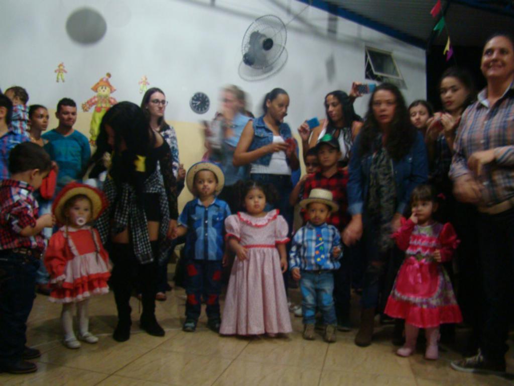 Festa Junina na Escola Rosa Vezzi