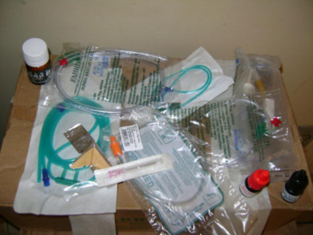 Aquisição de material para consumo médico hospitalar