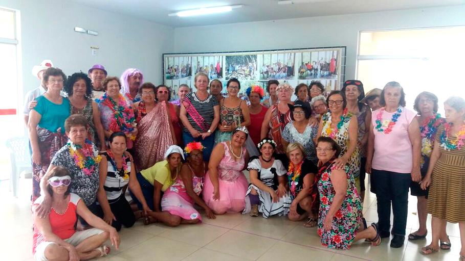 Oficina de Teatro do Departamento de Assistência Social faz parte das comemorações do Dia Internacional da Mulher em Bálsamo