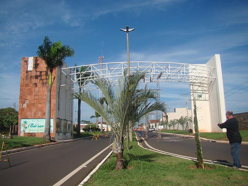 Portal de entrada da cidade é revitalizado