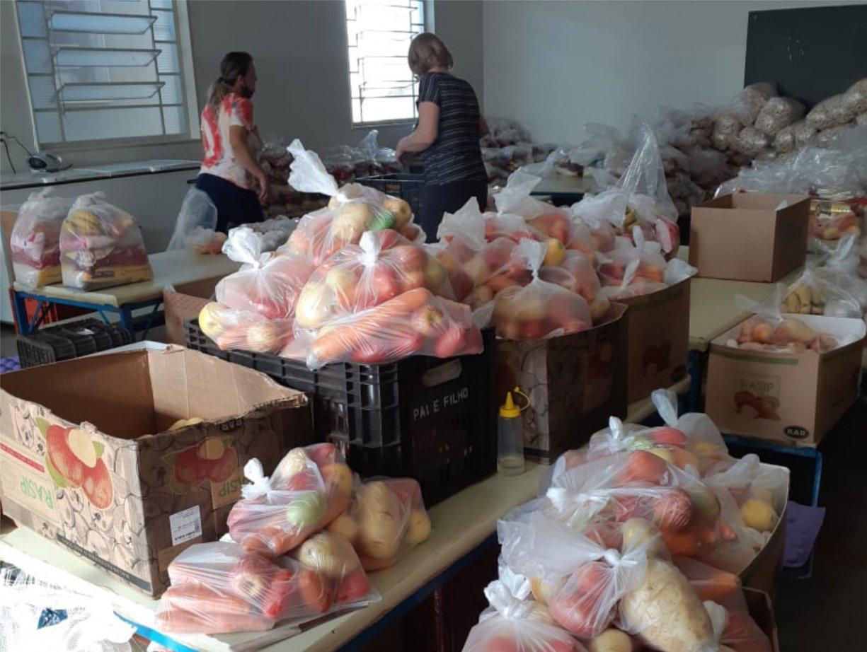 Kit Merenda continua sendo distribuído em Bálsamo