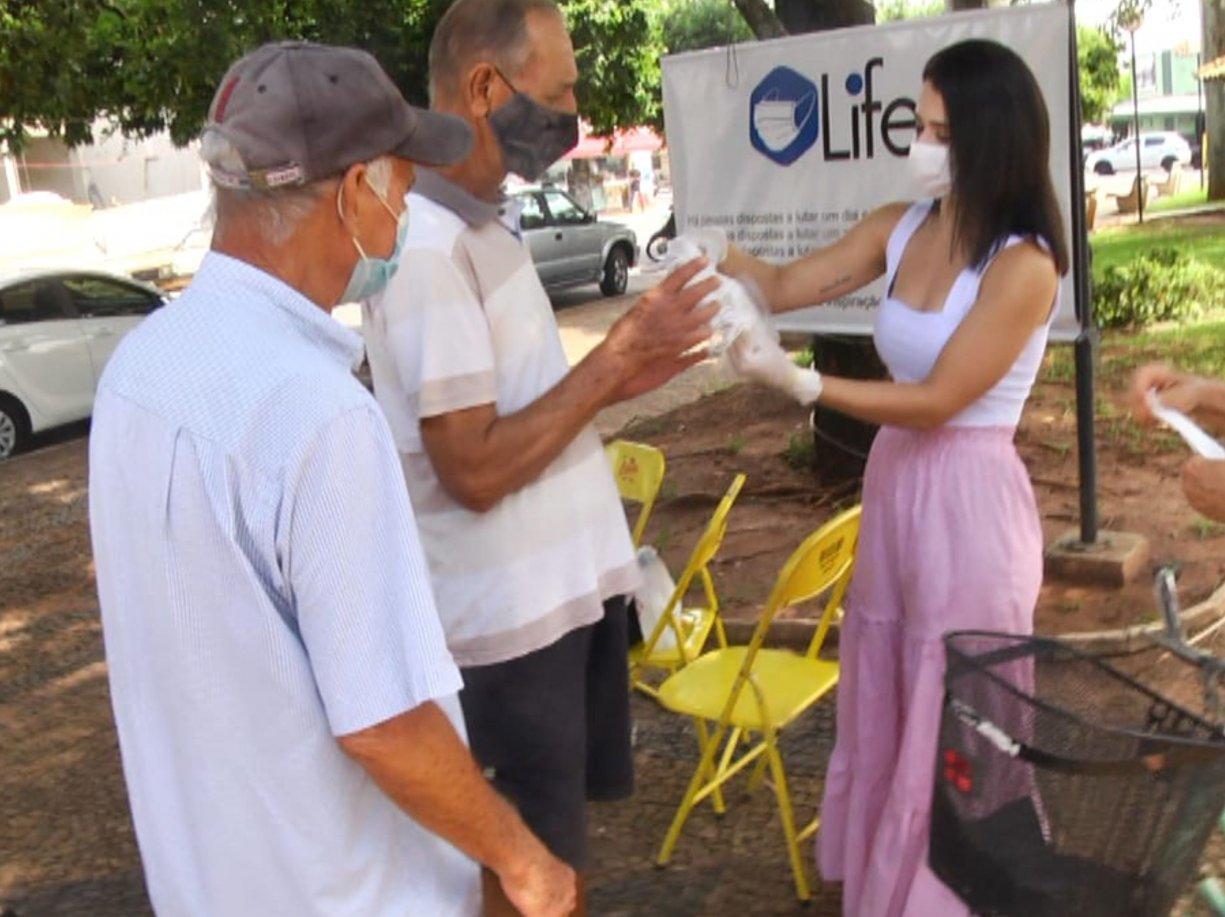 Life Máscaras realiza ações de prevenção em Bálsamo e região