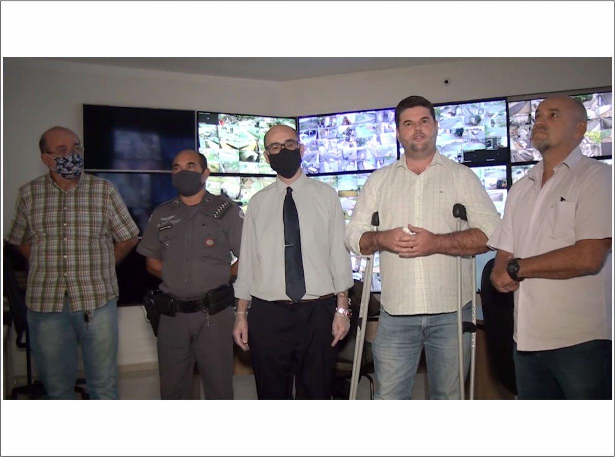 'Projeto Bálsamo Segura' tem monitoramento por câmeras de segurança 24 horas