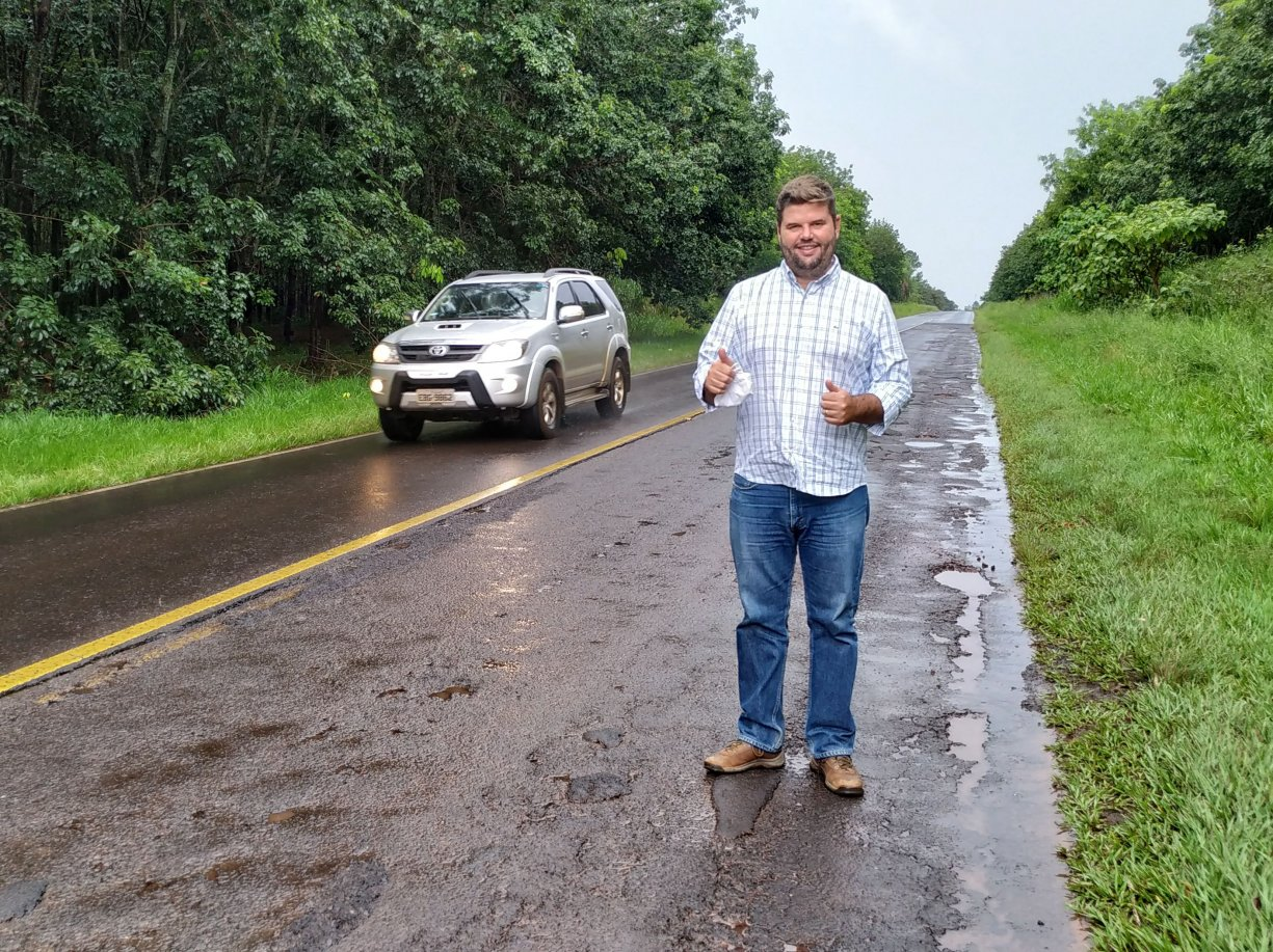 Prefeito Du Lourenço conquista recapeamento de vicinal que liga Bálsamo a Mirassolândia