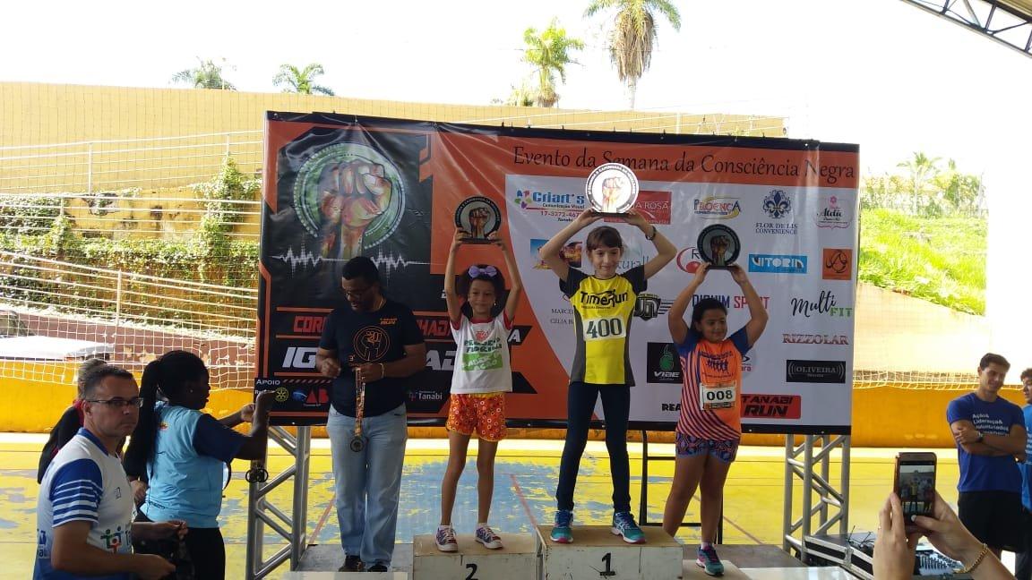 Integrantes do Projeto Fiorilli participam e se classificam em corrida de rua em Tanabi