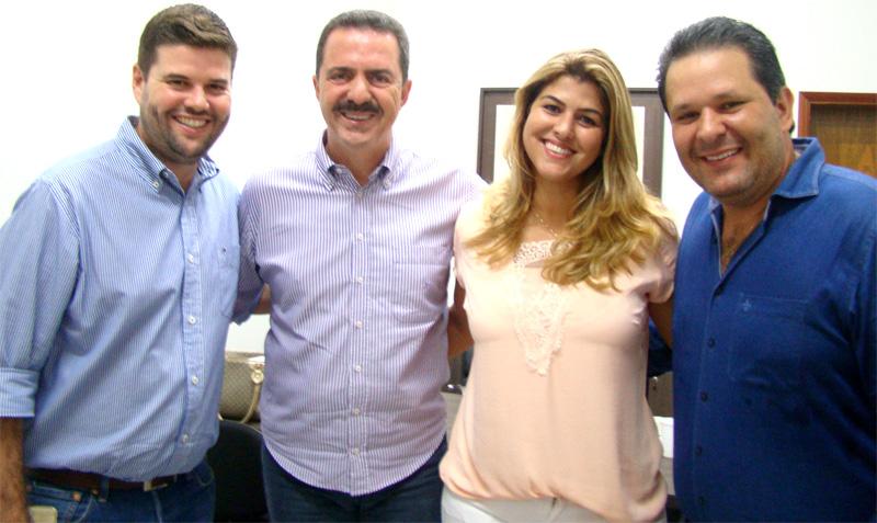 Deputado Itamar Borges visita o prefeito Du Lourenço