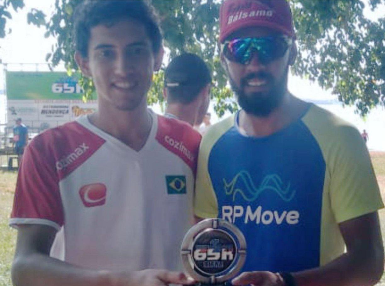 Pelézinho e Walisson, de Bálsamo, competem Ultramaratona e trazem premiação