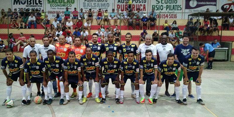 Com a vitória de 5X3 de Poloni, Bálsamo segue invicto na Copa TV TEM de Futsal