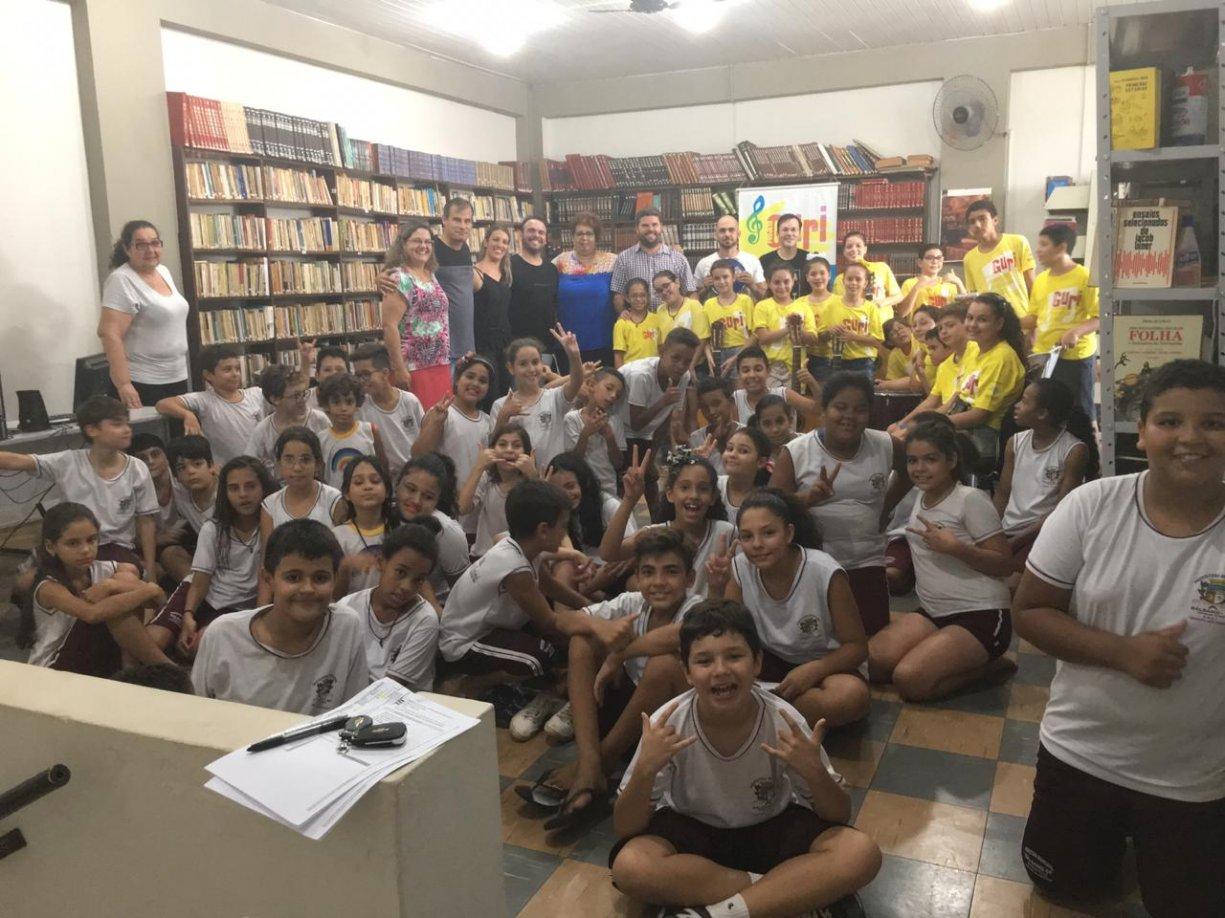 PARCERIA CERTA Educação, Assistência Social e Projeto Guri, se juntam para promover grande evento
