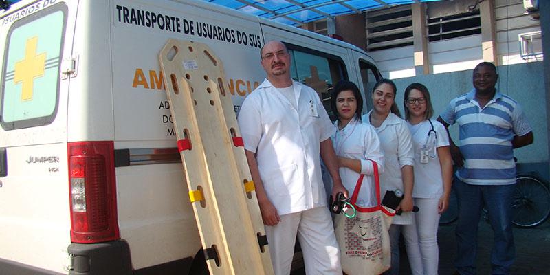 Saúde de Bálsamo realiza curativos em domicilio e cria ouvidoria do setor