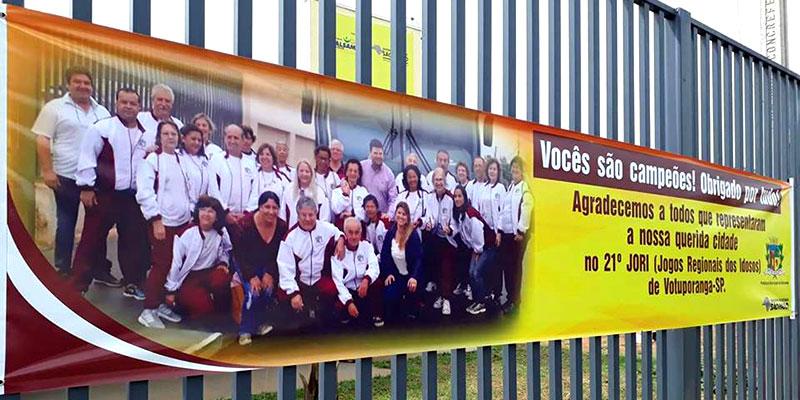 Prefeito disse que vitória no JORI do grupo da Melhor Idade em Votuporanga trouxe alegria e valorização para a cidade