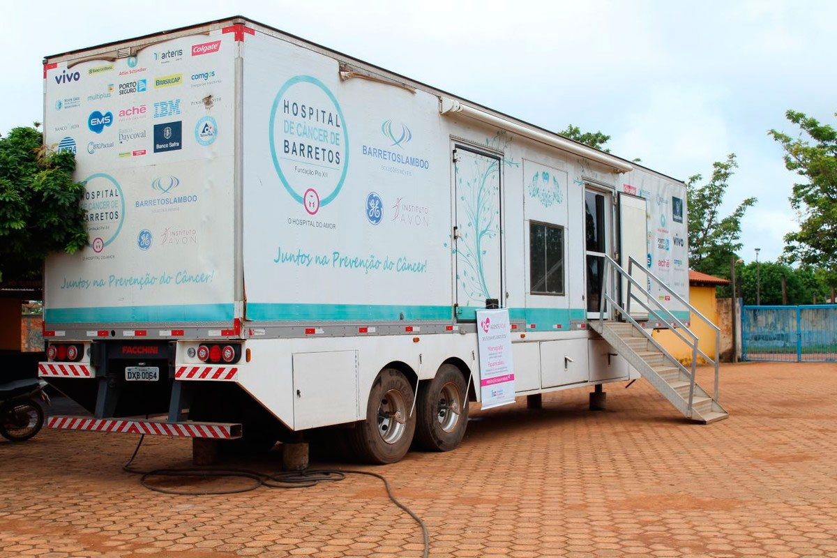HUMANIZANDO A SAÚDE – PARA ELE E PARA ELA Carreta do Hospital do Amor de Barretos virá a Bálsamo para realizar exames preventivos de Câncer de Próstata e do Colo do Útero
