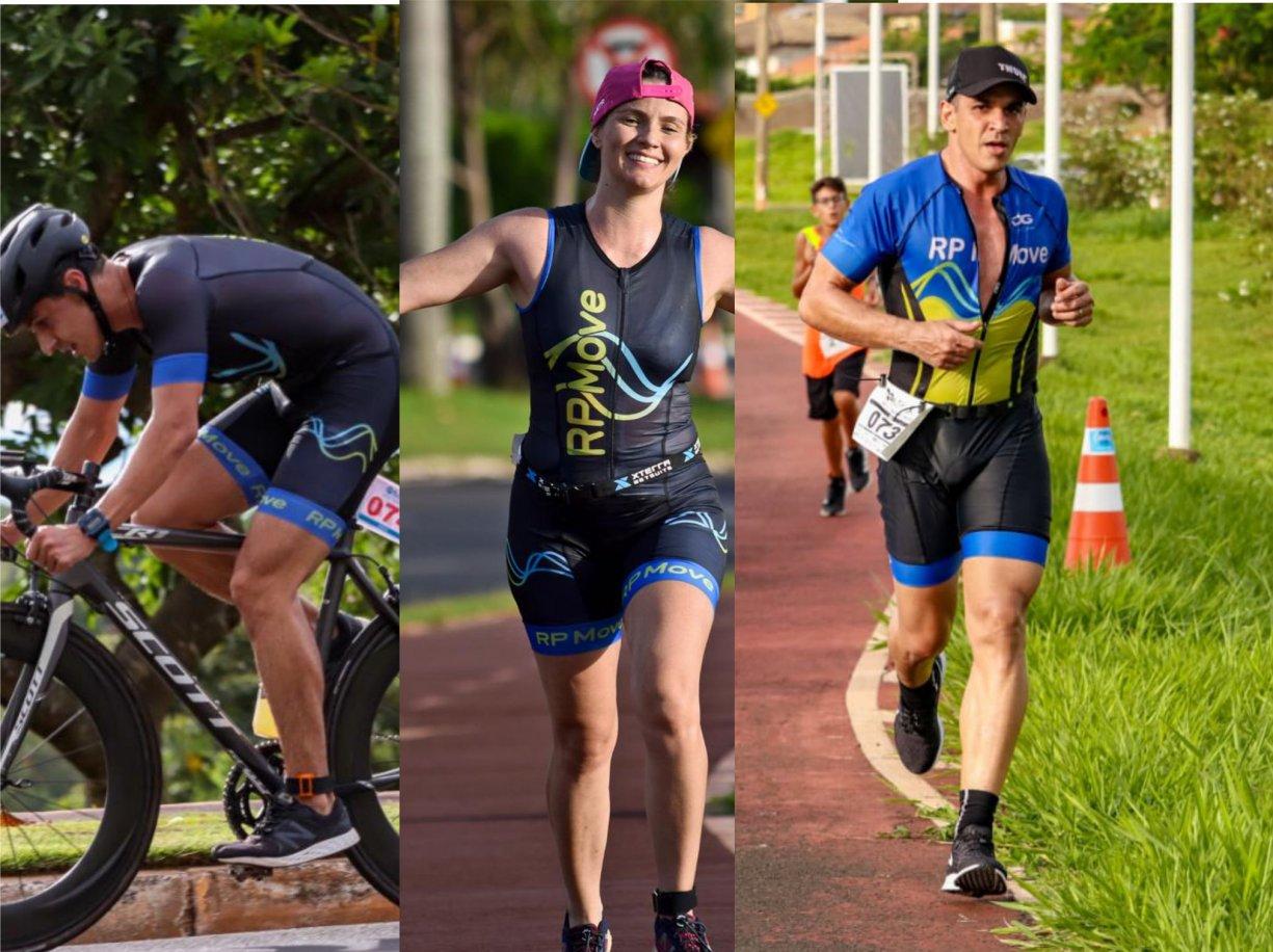 Atletas de Bálsamo se destacam na Copa EMS Sprint Triathlon em Rio Preto
