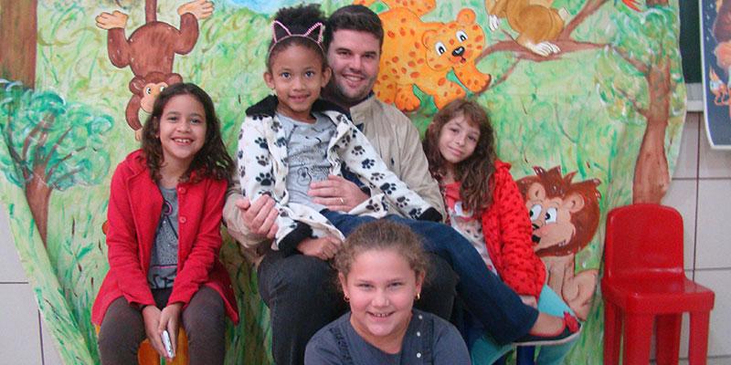Escola Modesto promove Feira do Meio Ambiente e recebe visita do prefeito, da vice e da 1ª dama