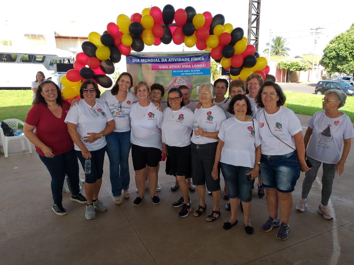 Equipe de Bálsamo participa do Agita Mundo/Agita Idosos em Bady Bassitt