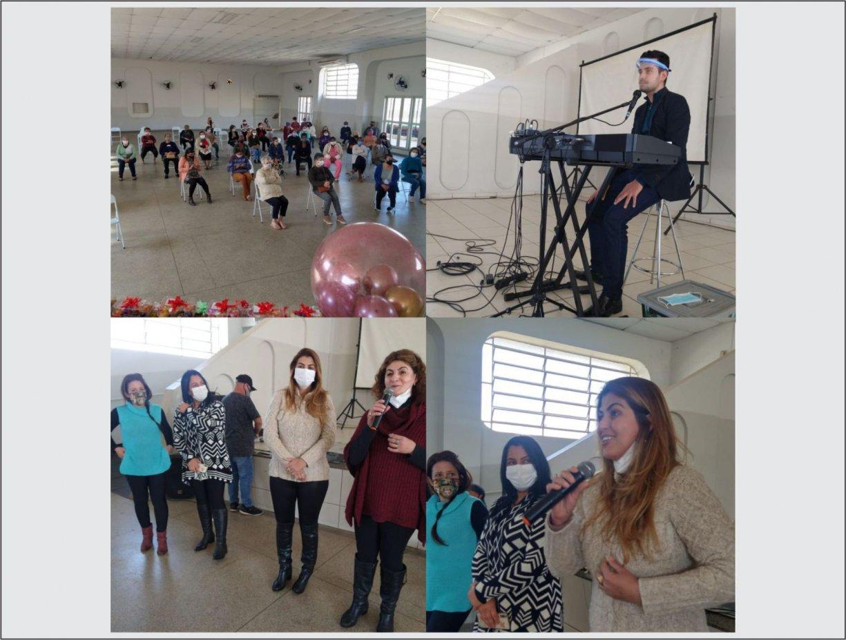 Assistência Social promove evento em comemoração ao Dia dos Avós