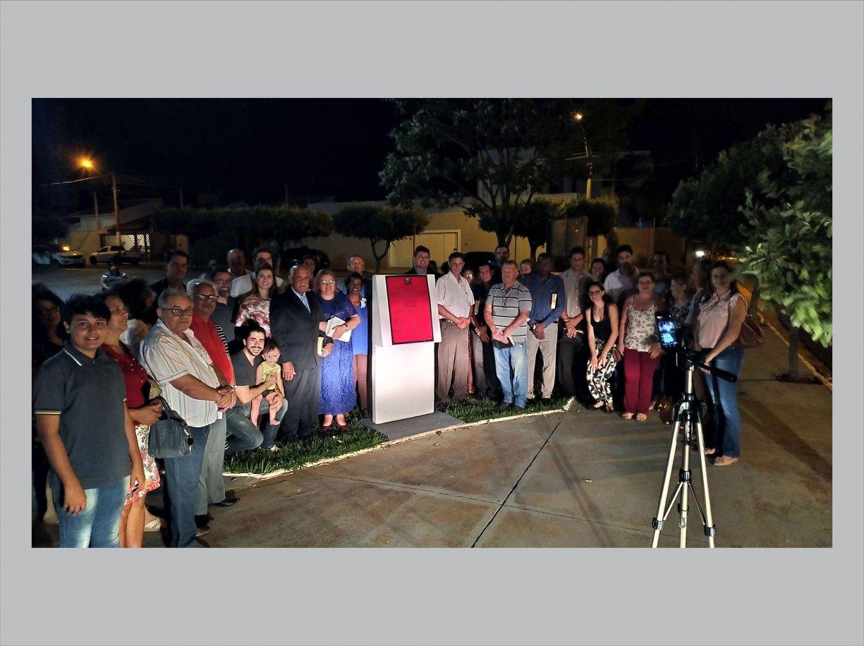 Pastores abençoaram a cidade na Praça da Bíblia