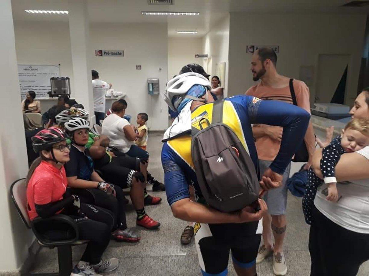 2º Pedalando pela Vida reuniu 200 ciclistas na conscientização de doações de sangue e medula óssea