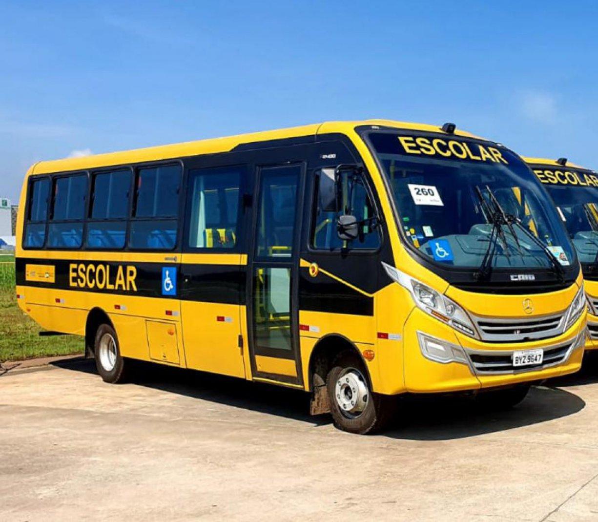 Bálsamo ganha ônibus de 44 lugares do programa Caminho da Escola