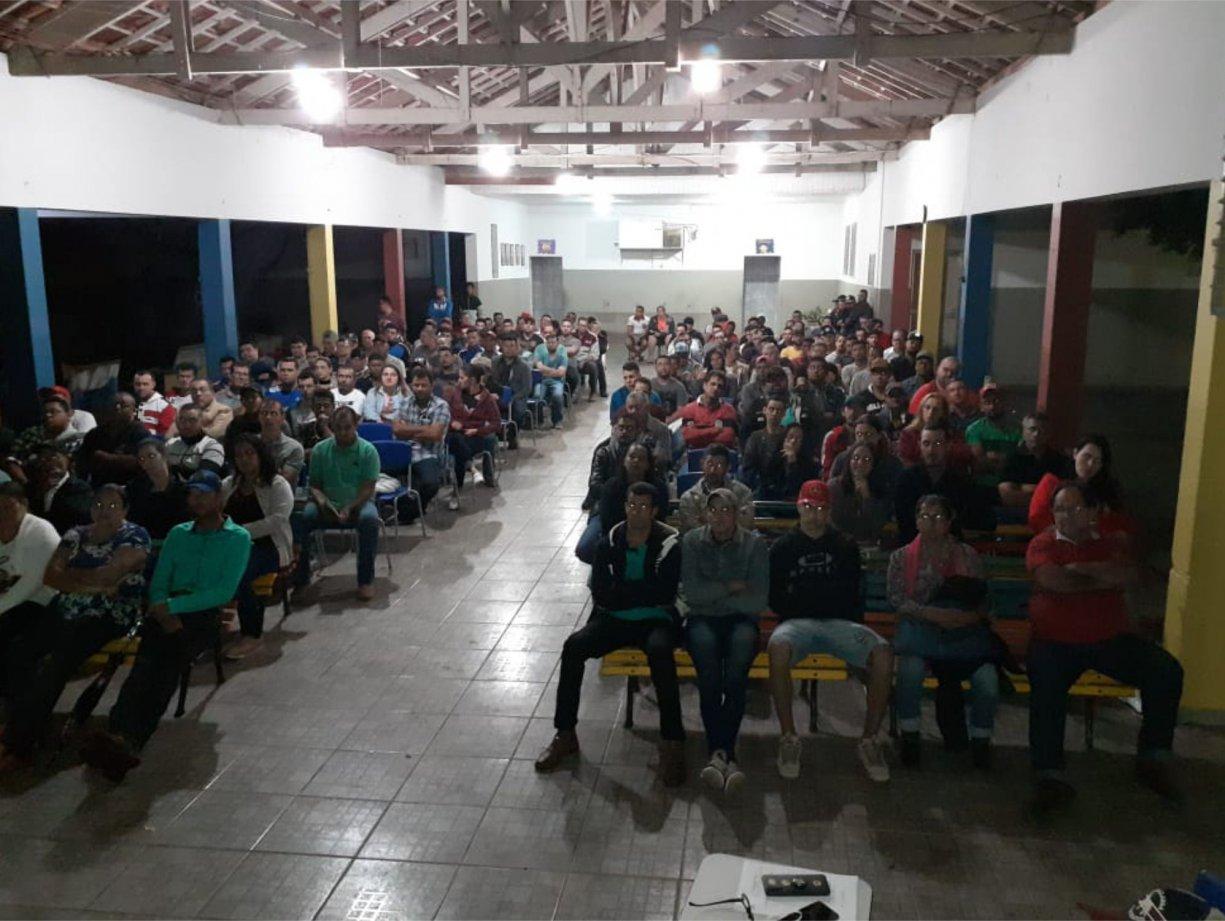 Curso de Máquinas Pesadas passa de 260 inscritos em Bálsamo