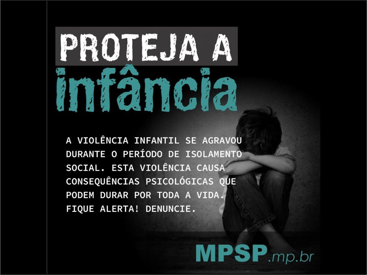 MPSP e CTB alertam sobre denúncias de violência contra crianças