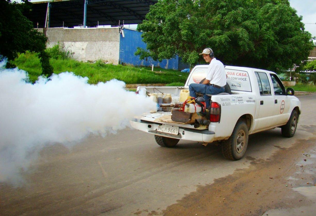 Bálsamo passa por Nebulização para combater Mosquito Transmissor da Dengue