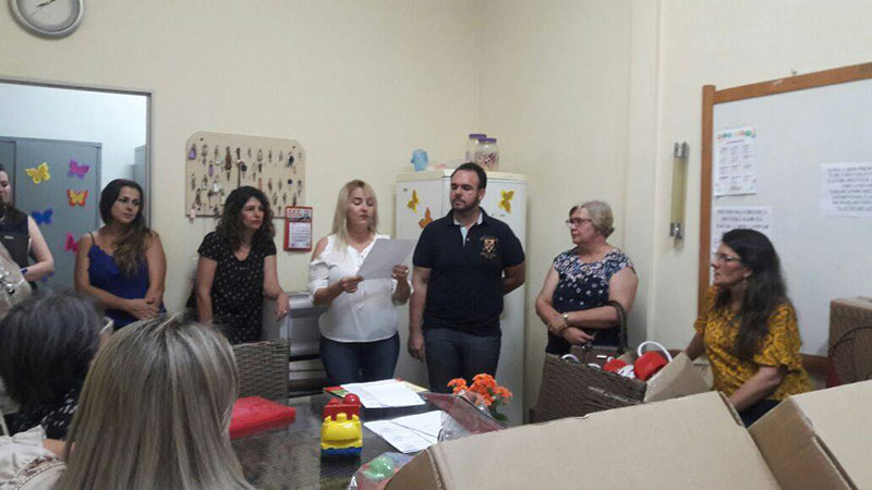 Escola João Flores adquire bens com o PDDE (Programa Dinheiro Direto na Escola) e presta contas para APM