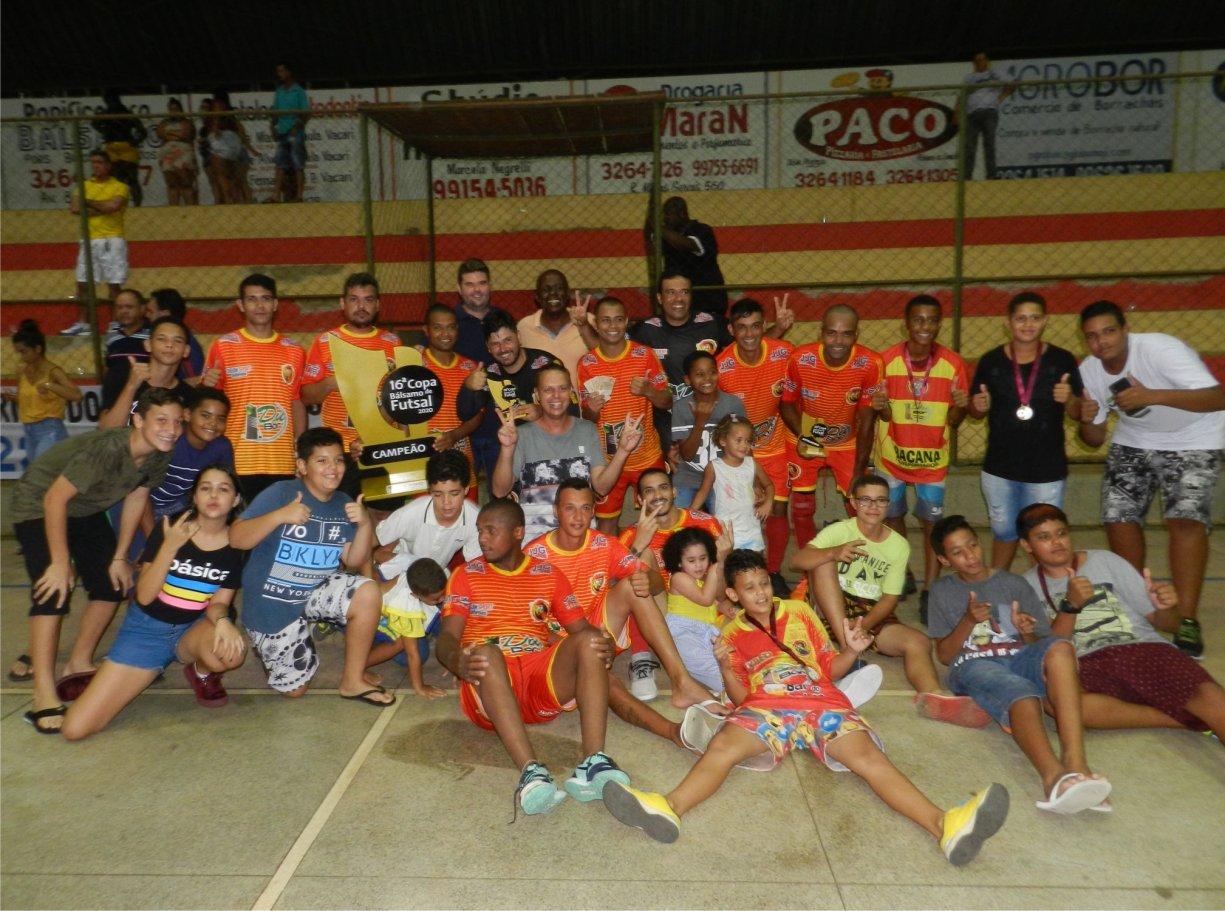 Bokazeda vence e é bicampeão da Copa Bálsamo de Futsal