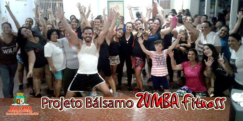 """Prefeito Du implanta e população adere ao projeto """"Bálsamo Zumba Fitness"""""""