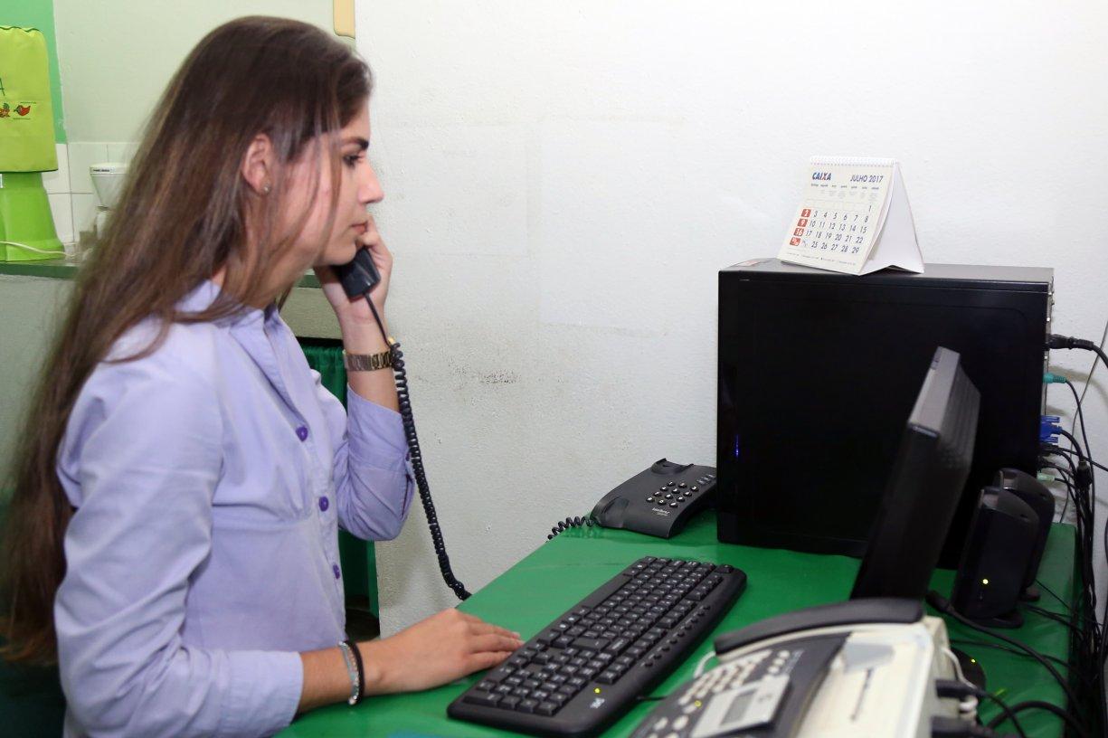 Posto de Saúde recebe PABX com 12 ramais para facilitar comunicação com os pacientes