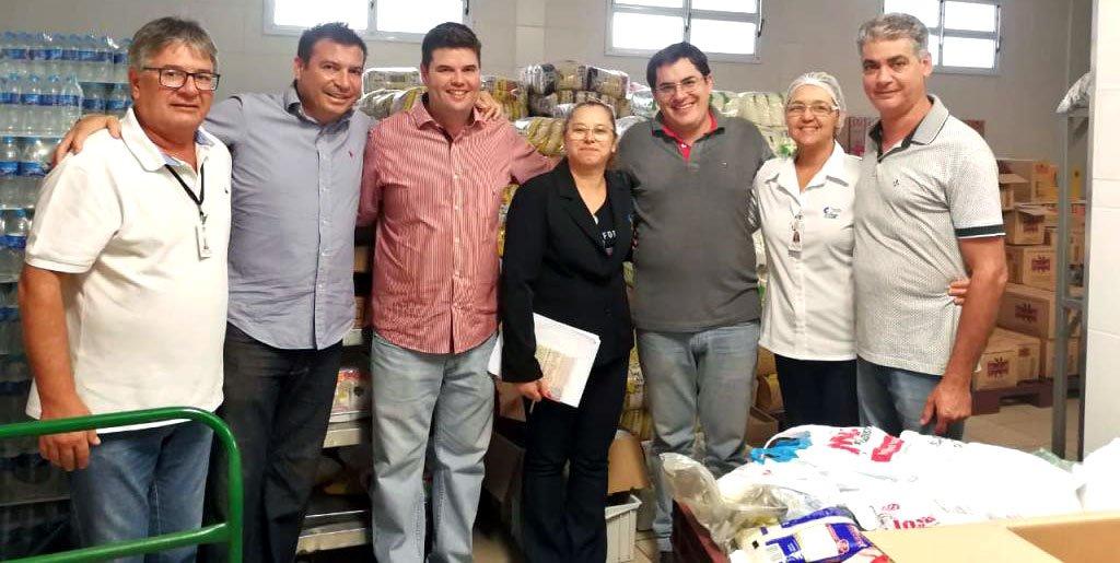 Bálsamo arrecada 12 Toneladas de alimentos e R$ 12 mil em dinheiro na 50ª Festa do Peão para o HB