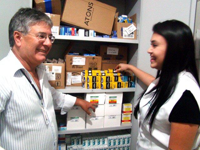 Em visita surpresa TCE aprova a atuação do setor da saúde de Bálsamo