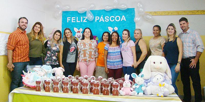 Alegria de 880 crianças em receber Ovos de Páscoa marca a semana do prefeito Du Lourenço